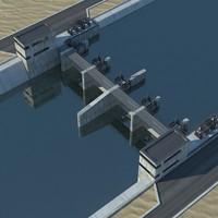 bridge dam x