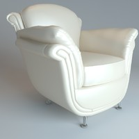 3d daly chair model