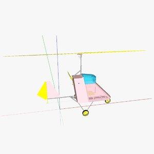 3ds autogyro
