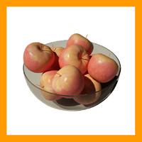 bowl apples 3ds