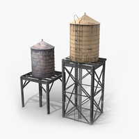 Roof-Top Water Tanks