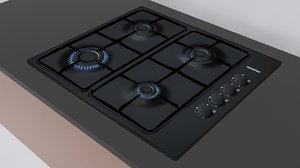 3d siemens gas hob 1 model