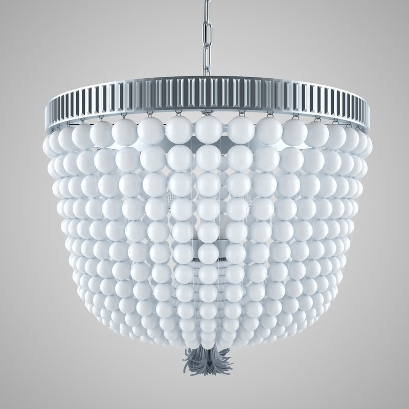 chandelier light 3d max