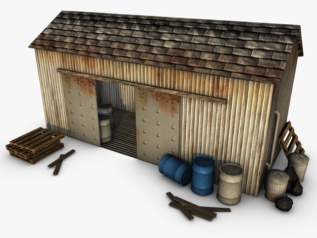 3d model warehouse house