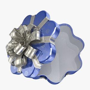 3d gift present model