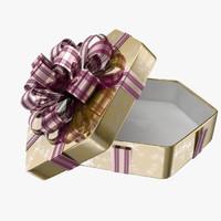 3d model gift present