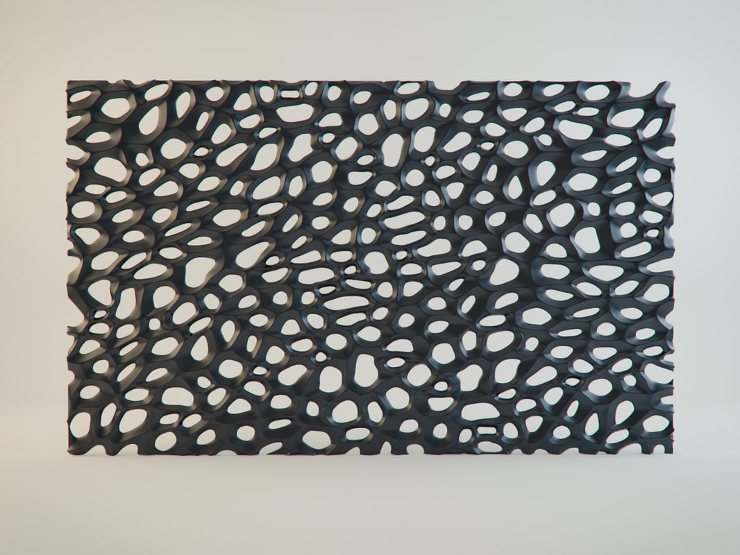 decorative lattice 3d model