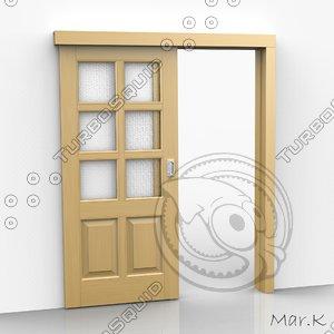 3d sliding door