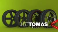 c4d wheels justtomas