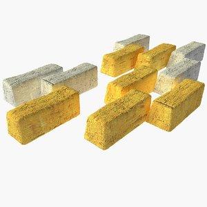 3d model of paving stone
