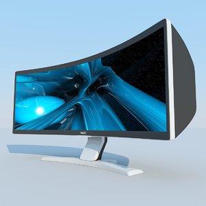 max crv43 lcd display nec