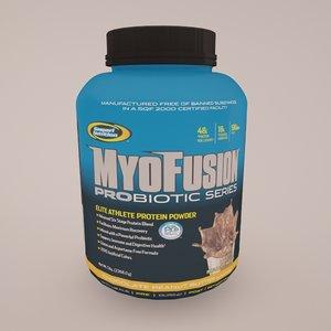 3d max myo fusion