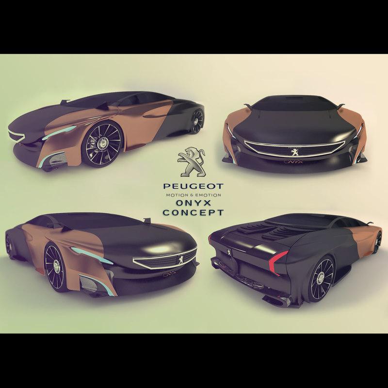 3ds onyx concept car