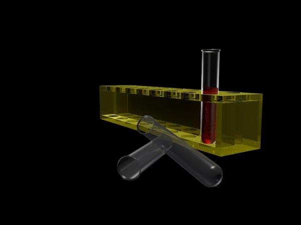 3d tubes model