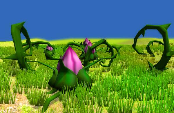 unity strange flower bramble x free