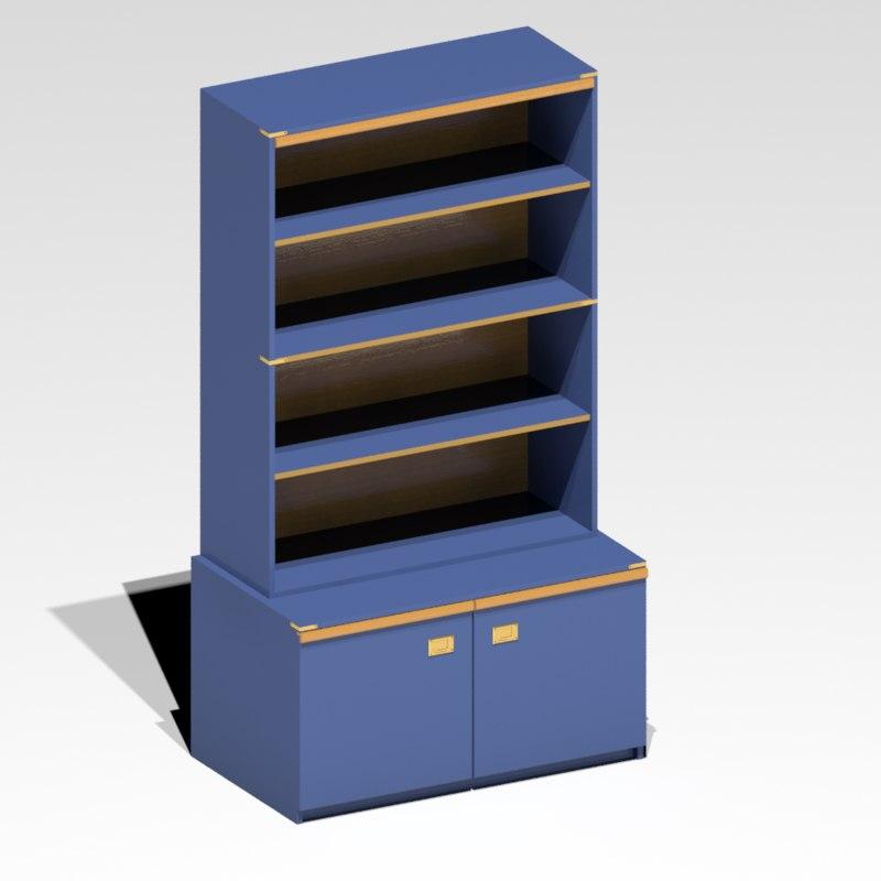 3d bookstand model