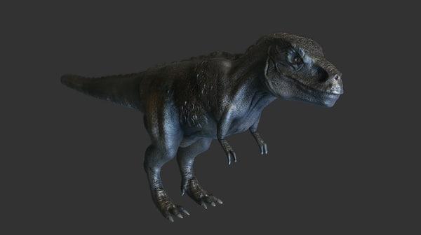 3d trex t rex model