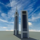 3d emirates office tower