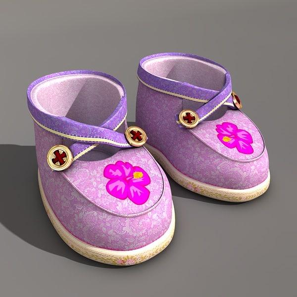 c4d baby boots