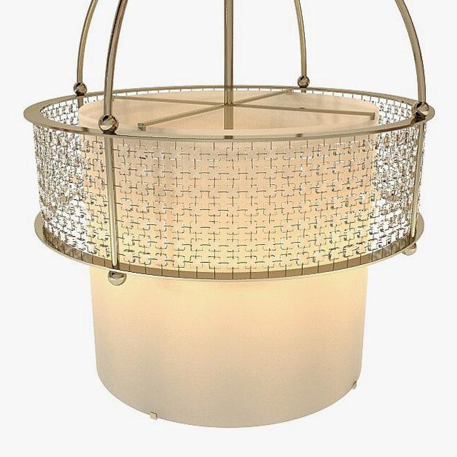 baker - bracelet chandelier 3d model