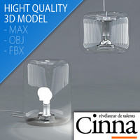 bonbonne floor lamps design 3d model