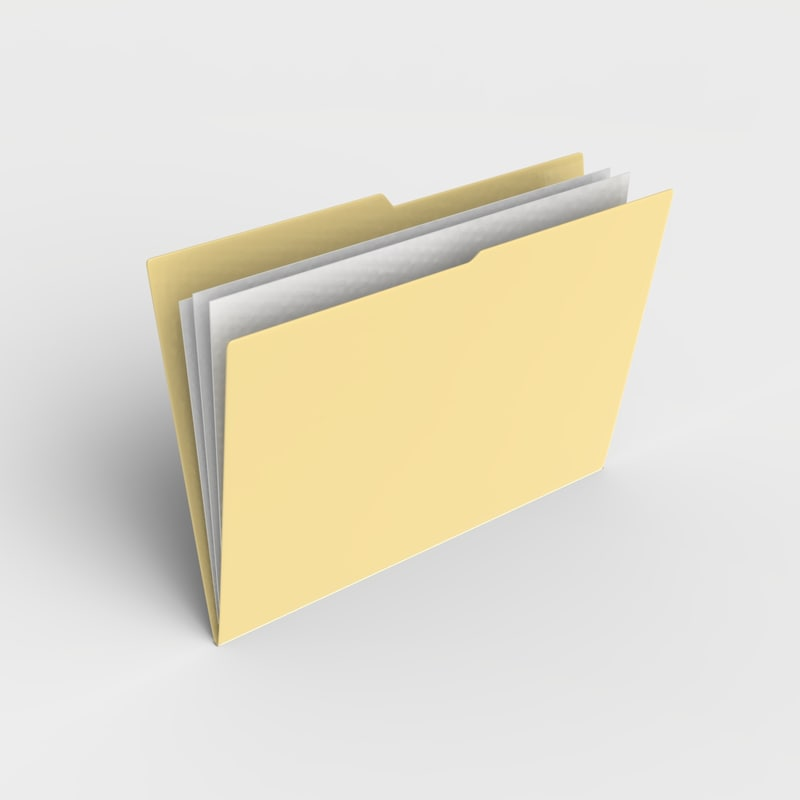 file folder 3D Models | TurboSquid.com