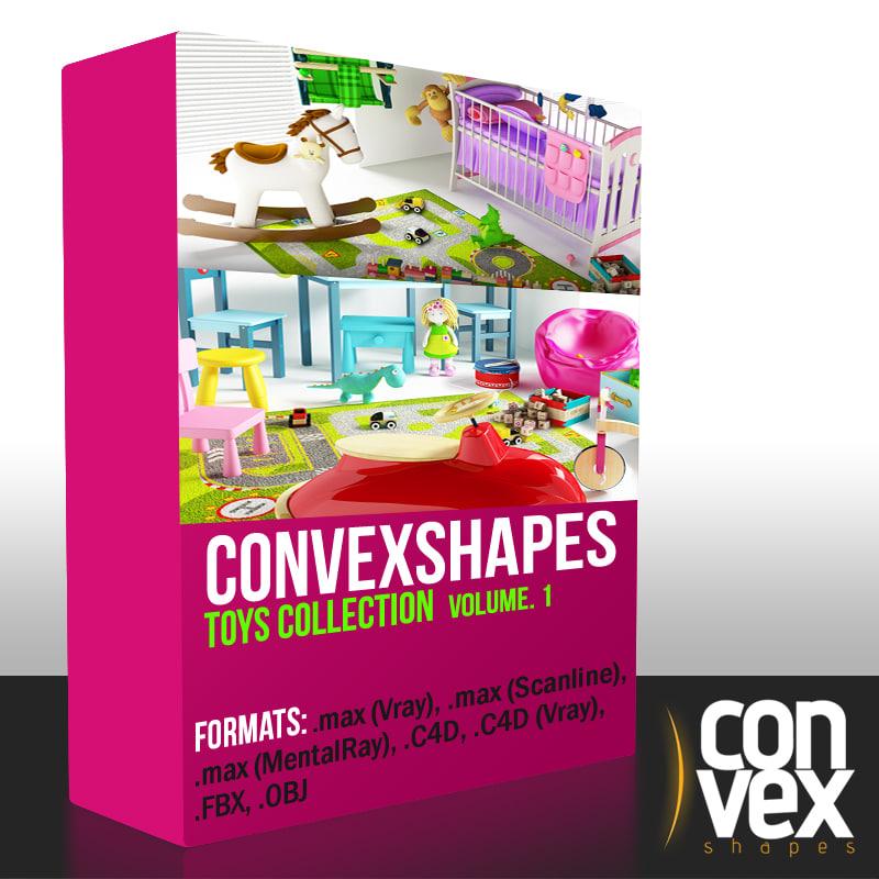 convexshapes toys 3d ma