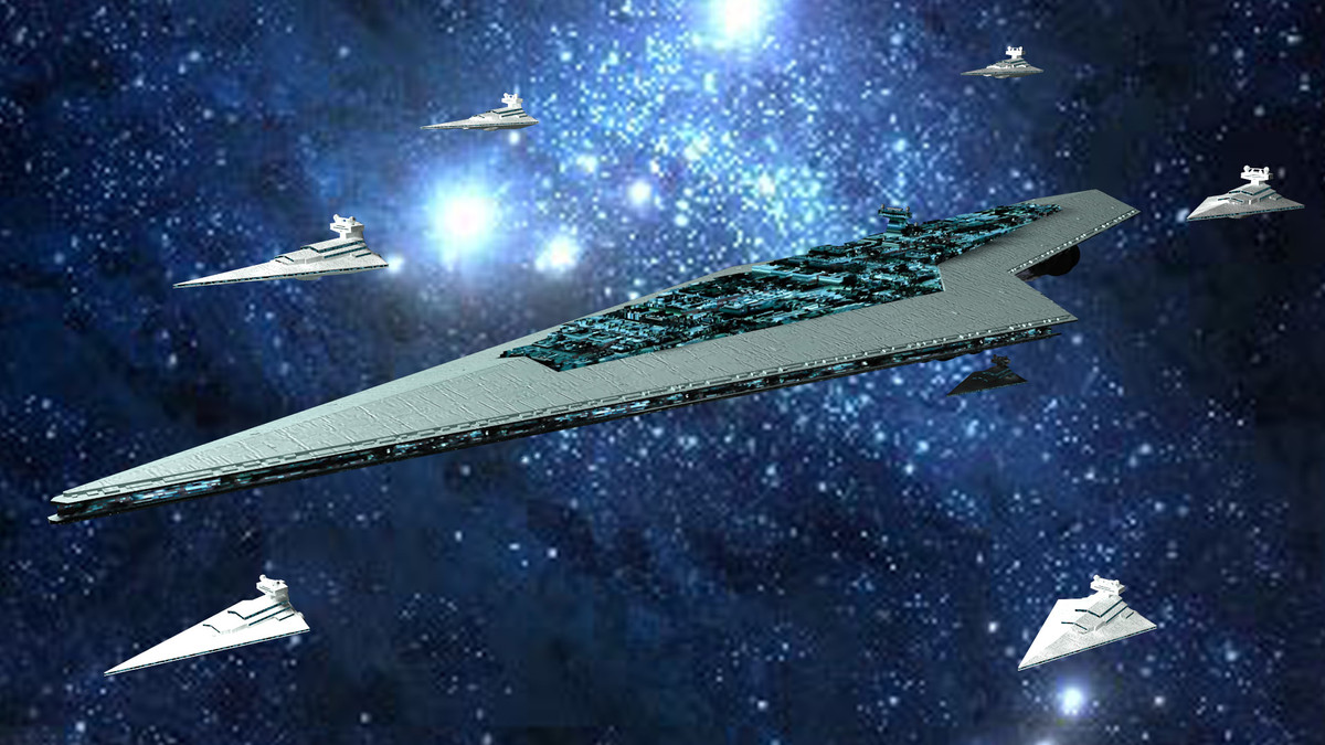 3d star destroyer executor model