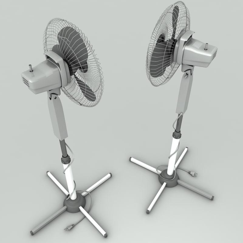 tall fan model