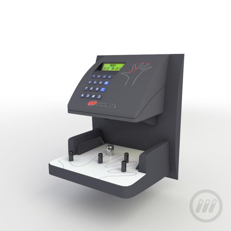 3d biometric hand model