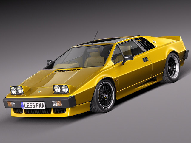 3d esprit s2 turbo 1978 model