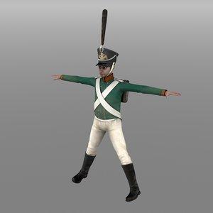 3d russian grenadier