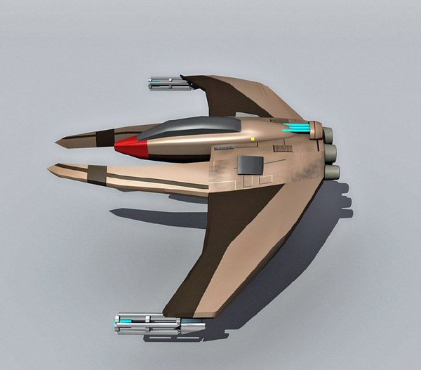 3ds max spaceghter