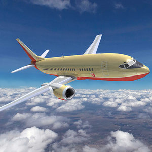 boeing 737 southwest airlines c4d