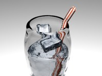 Straw Cup Ice