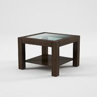 rumbi table 3d obj