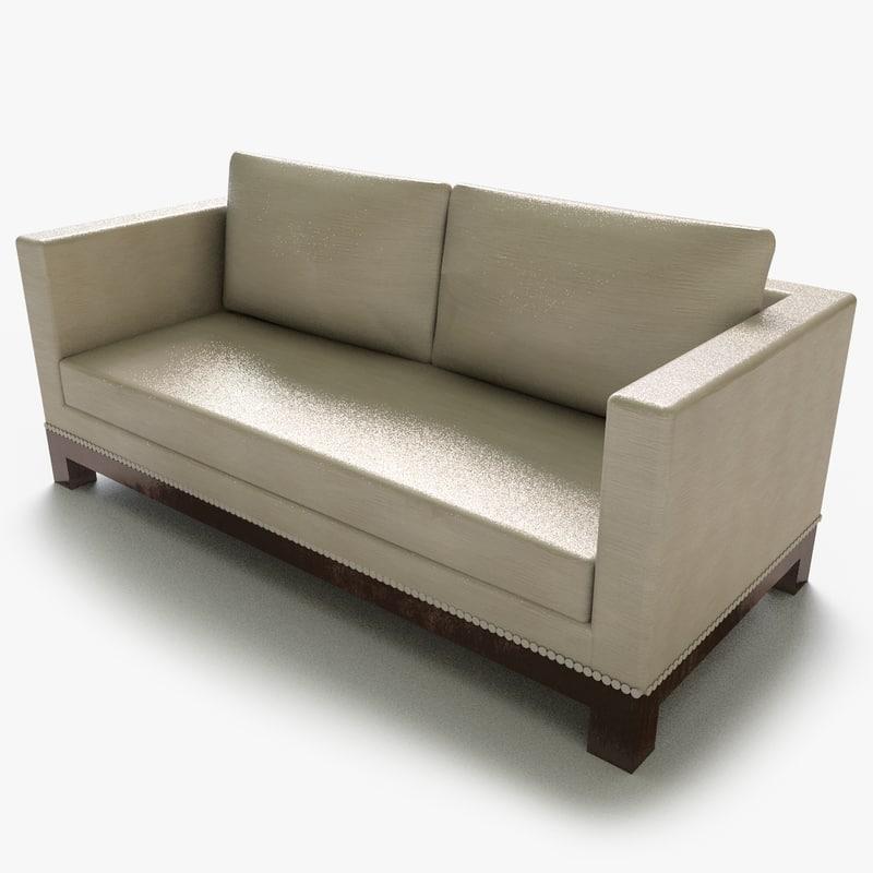 polantis seat couch 01 3d model
