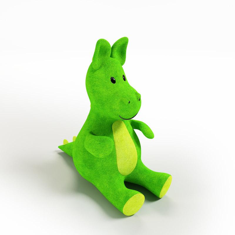 3d max dragon s mascot