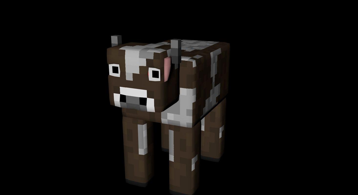 3d cow rig