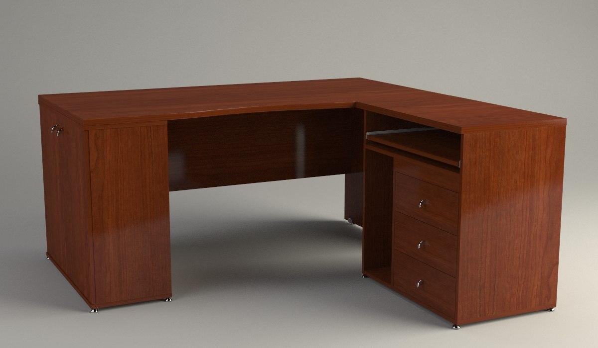 office desk 3ds free