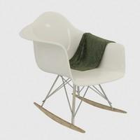 eiffel rocking chair with cloth