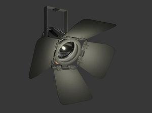 studio fresnel light 3d x