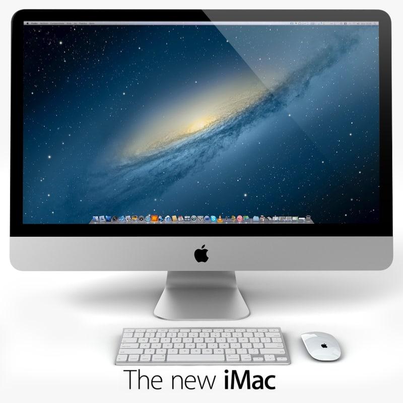 new imac 3d model
