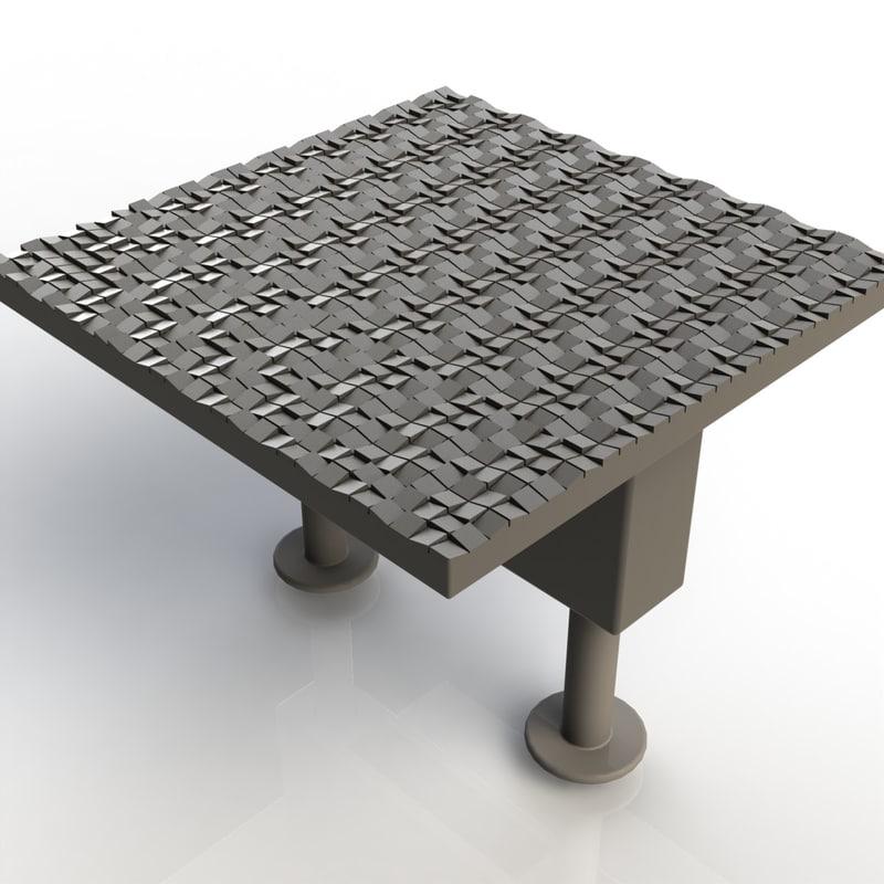 3d furniture handle