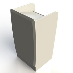 3d model stand computer desk furniture office