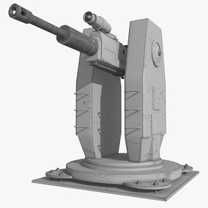 light gun 3d model
