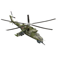 3d model mi-24 helicopter