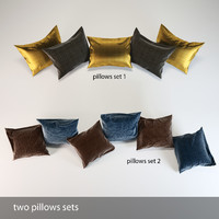 two pillows sets