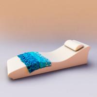 3d chaise la fete surf