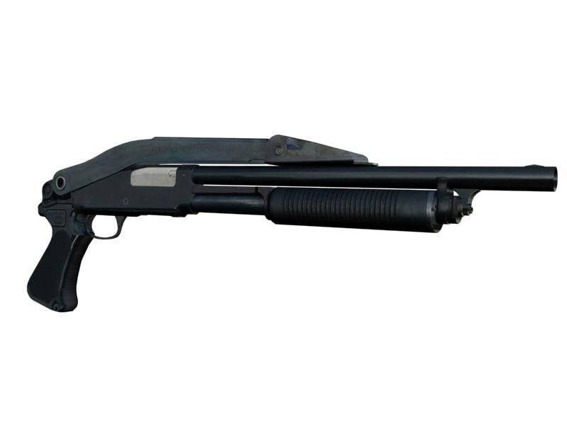 3d model remington m31 law riot
